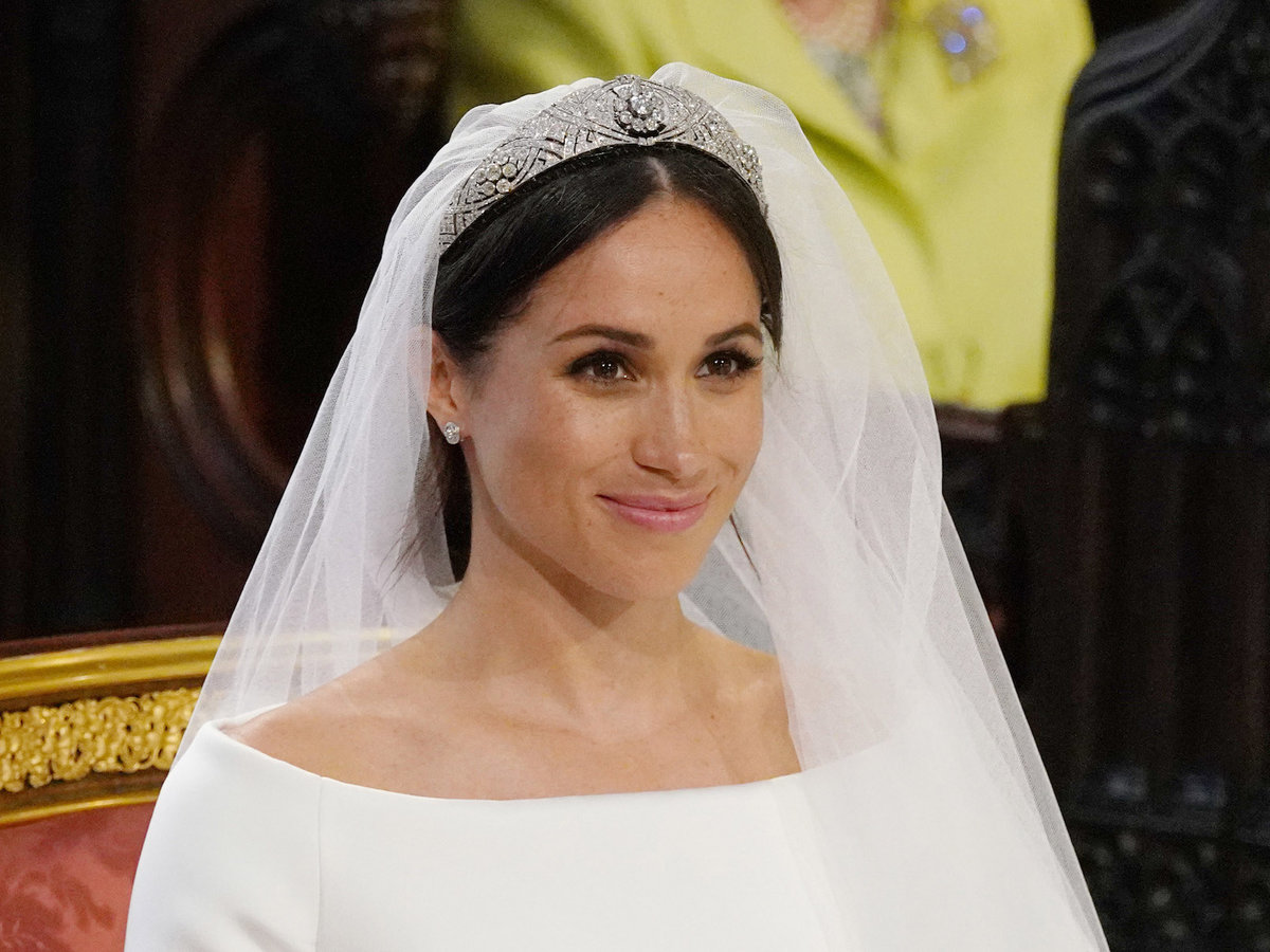 The Secret Meaning Behind Meghan Markle's Gorgeous 16-Foot Wedding Veil