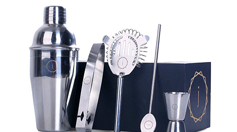 DG Custom Monogram Bar Tool and Cocktail Shaker Kit