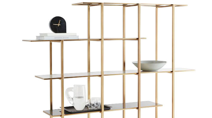 Room divider ideas floating bookshelf