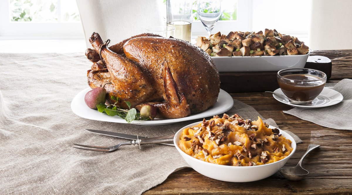 HelloFresh Now Delivers a Thanksgiving Dinner Box Straight To Your Door