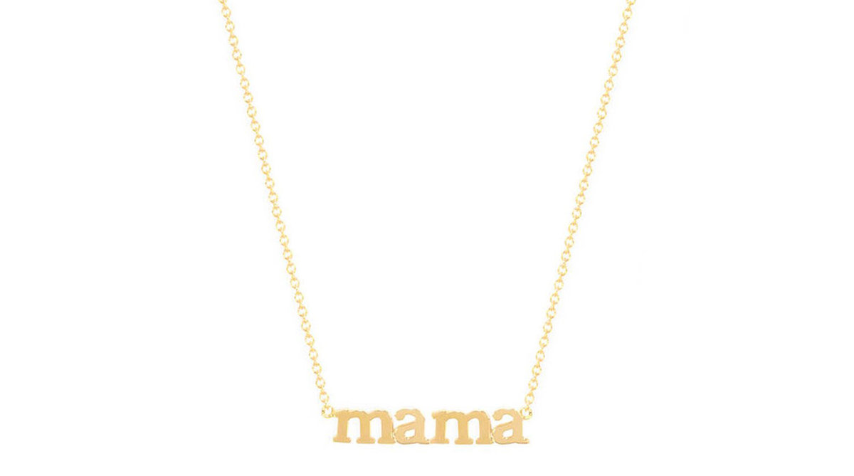Jennifer Meyer Mama Necklace