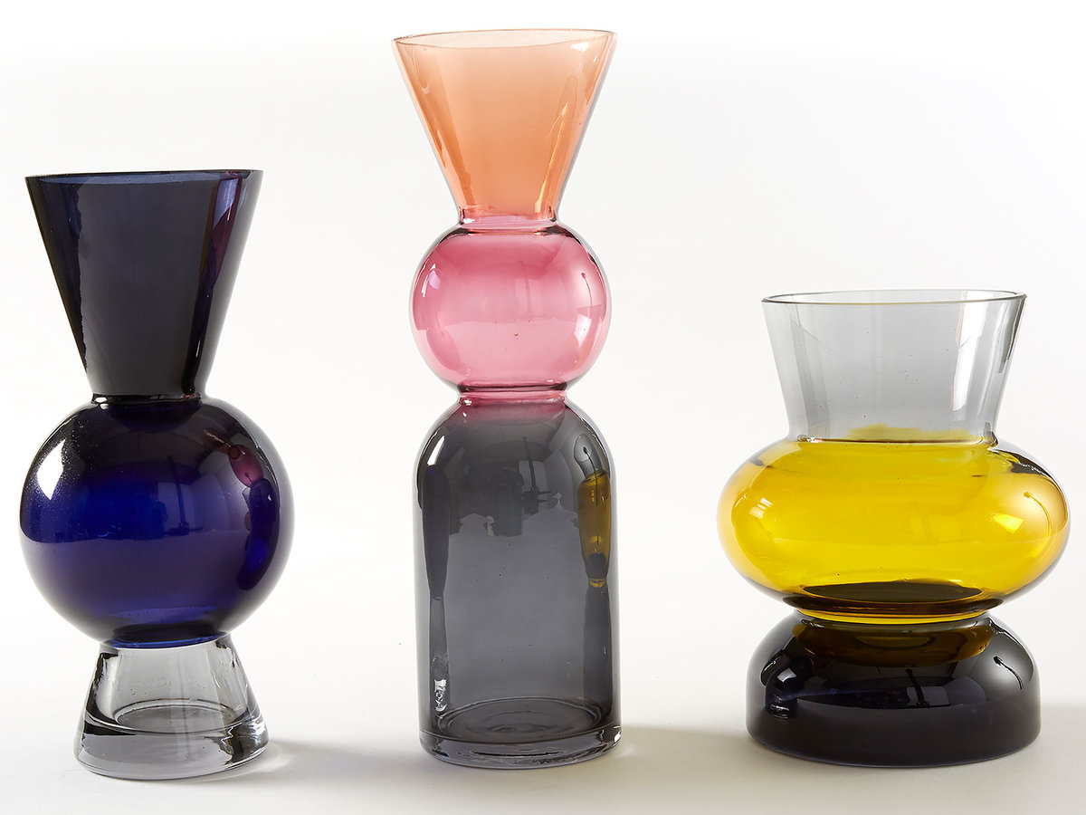 Mother's Day gifts: colorful modern vases