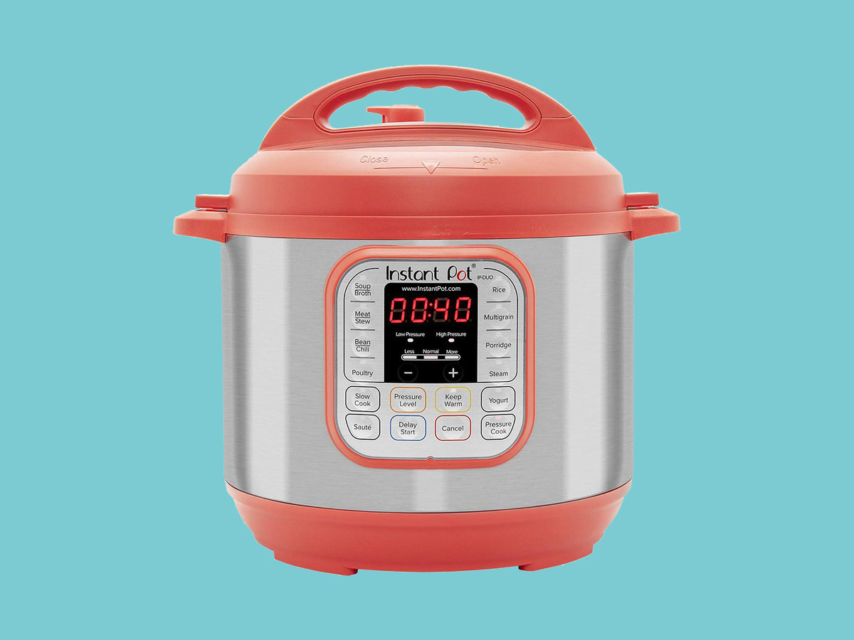 Instant Pot Duo RED 60 Programmable Pressure Cooker