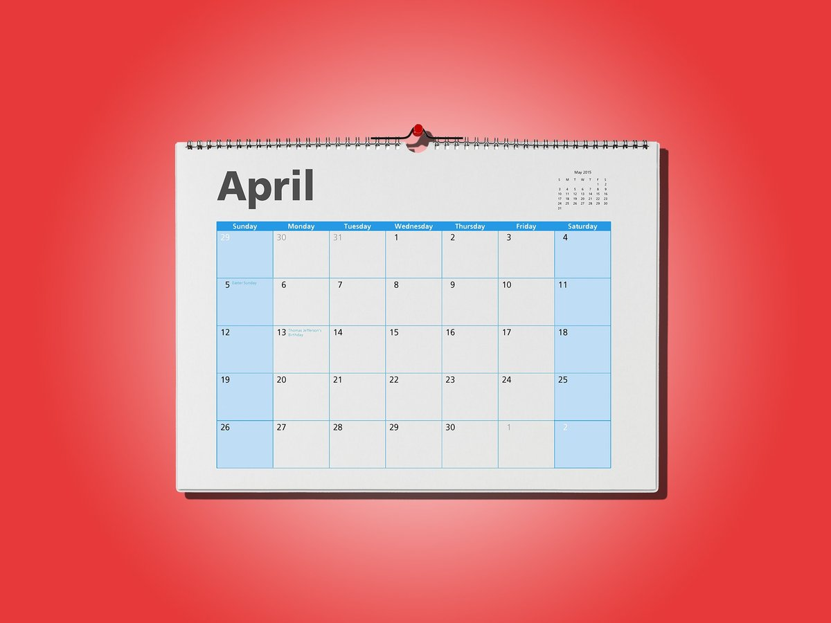 When Are Taxes Due in 2017? This Year, It's Not April 15