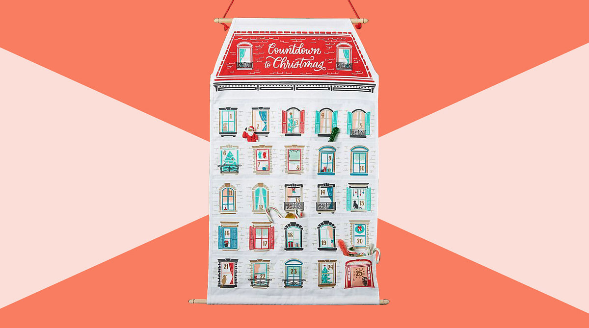 Best advent calendars 2019 - anthropologie calendar tout
