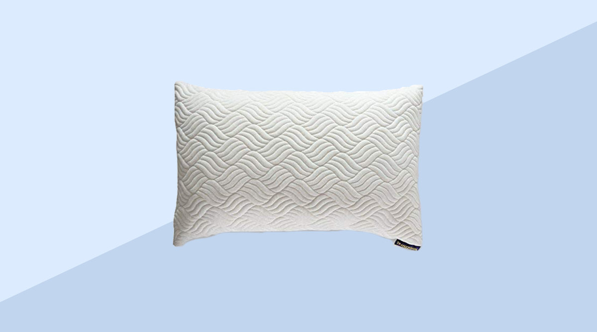 TRANZZQUIL Memory Foam Hypoallergenic Bed Pillows