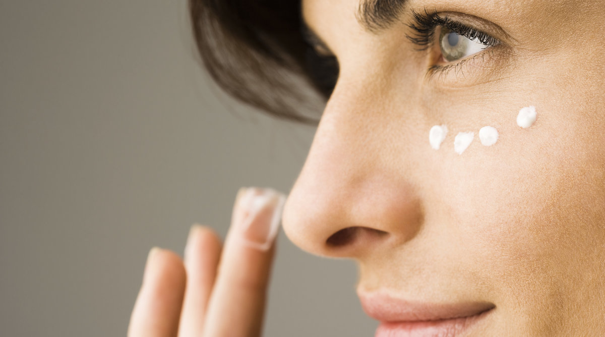 Woman Using Concealer