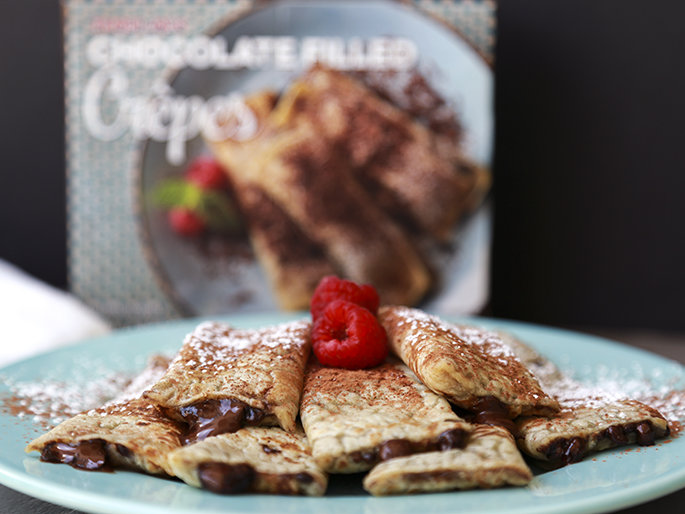 Trader Joe's Chocolate Filled Crêpes Are Here To Make Your Dreams Come True