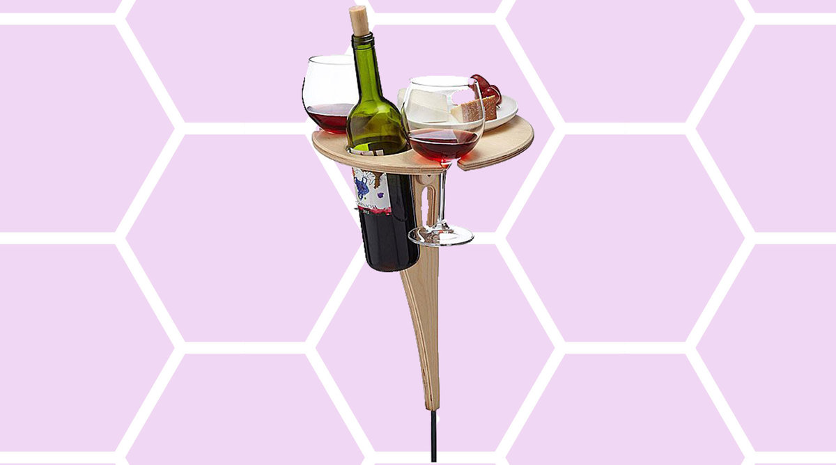 Outdoor Wine Table tout