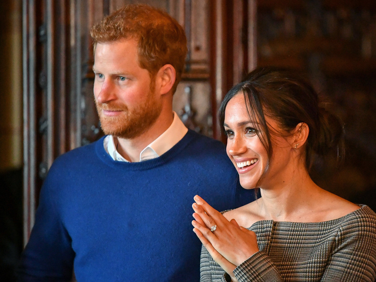 There's an Ambulance Parked Behind Meghan Markle and Prince Harry's Home