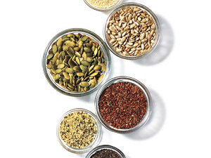 Various kinds of seeds