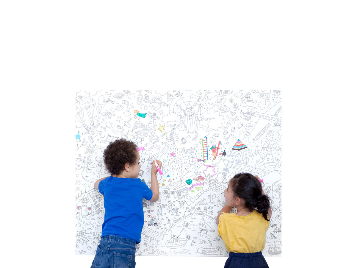 Giant Coloring Page