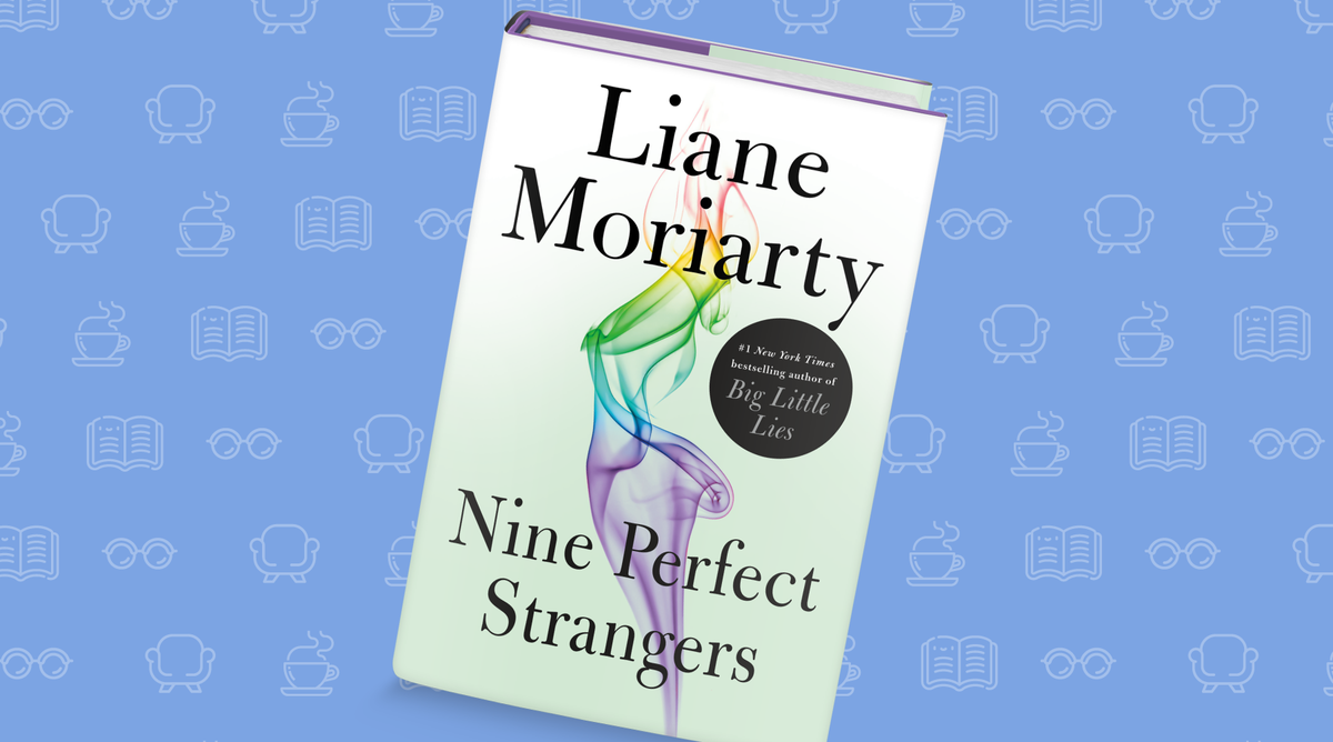 Cover of Nine Perfect Strangers, by Liane Moriarty