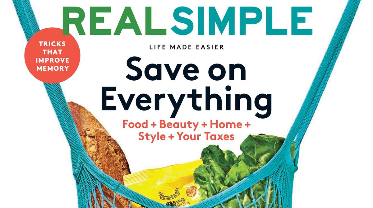 March 2019 Real Simple Cover