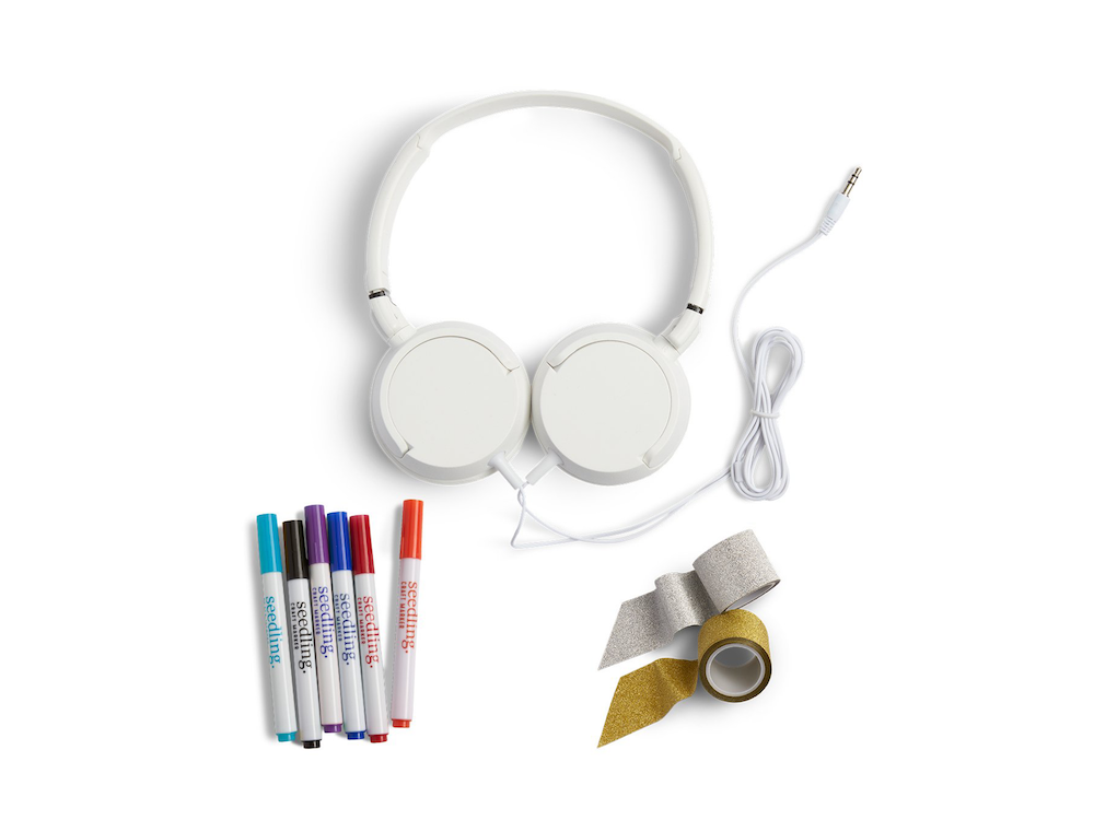 Valentine Gifts for Kids on Amazon: Design Your Own Headphones