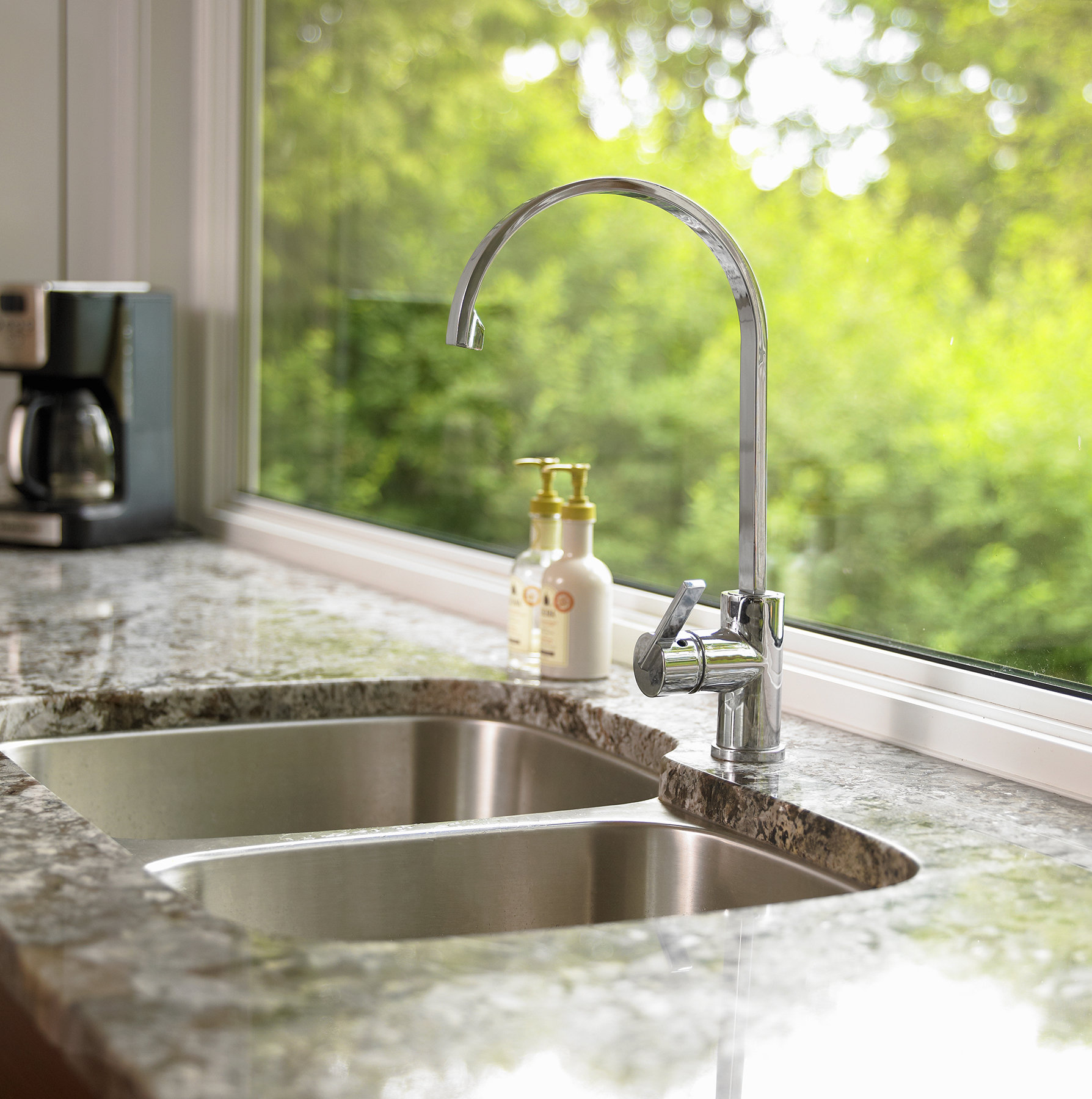 Kitchen Sinks With Granite Countertops Around The Sink And Faucet How To Clean The Grossest Kitchen
