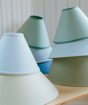 Bring in Shades of Colors   20 Low-Cost Decorating Ideas   Real Simple:Bring in Shades of Colors,Lighting