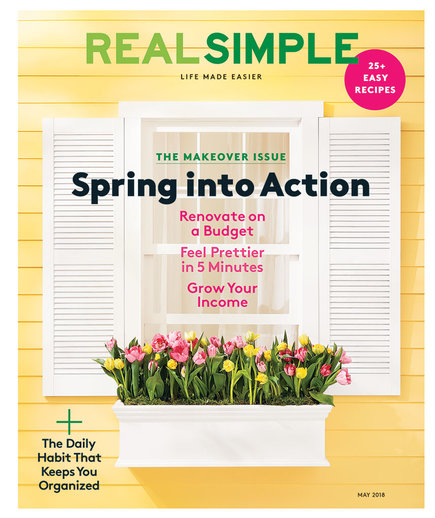 May 2018 Real Simple Cover