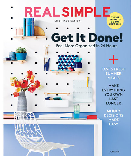 Real Simple June 2018 Cover