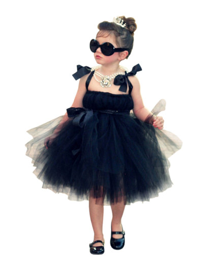 Audrey Hepburn Tutu Dress by Atutudes