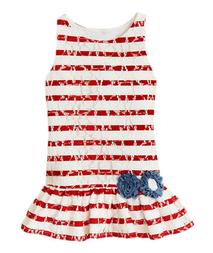 Pippa & Julie Girls' Stripe Dress