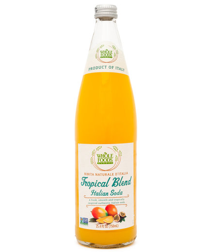 Whole Foods Market Tropical Blend Italian Soda