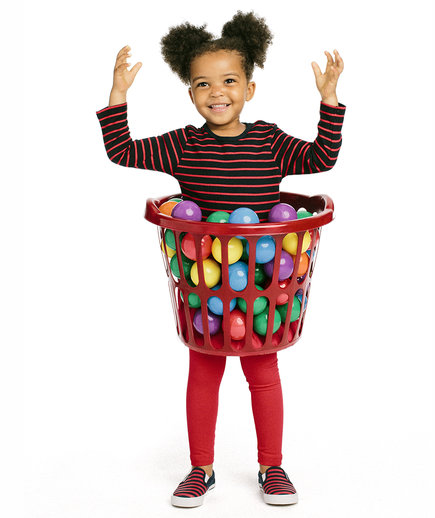 The Costume: Kid in a Ball Pit