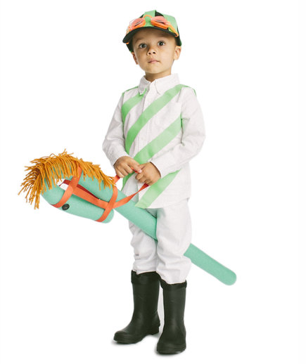 The Costume Horse and Jockey  sc 1 st  Real Simple & Cool Halloween Costumes You Can Make Using Stuff Around the House ...