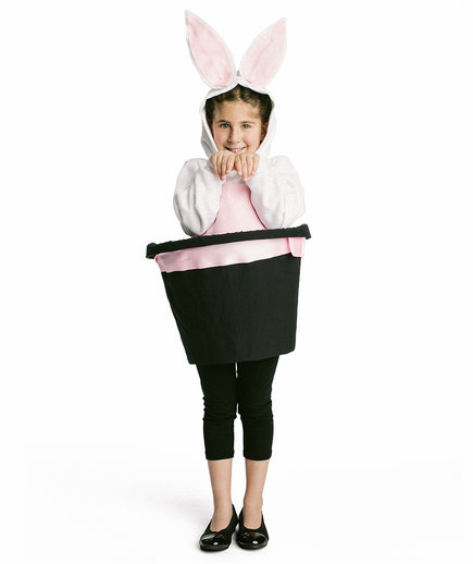 The Costume Magicianu0027s Rabbit  sc 1 st  Real Simple & Cool Halloween Costumes You Can Make Using Stuff Around the House ...