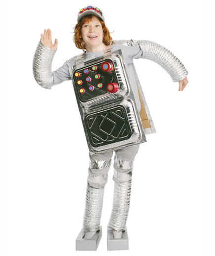 The Costume: Retro Robot