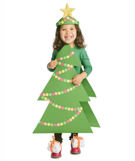 Cool halloween costumes you can make using stuff around the house the costume christmas tree solutioingenieria Image collections
