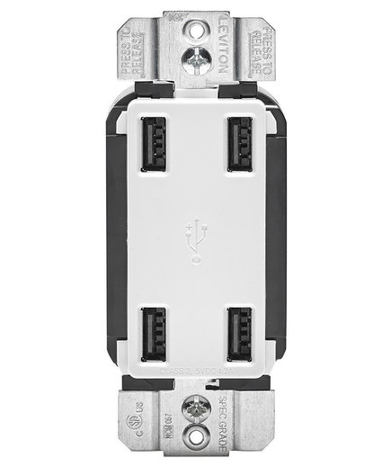 Leviton 4-Port USB Charger