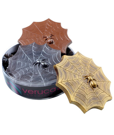 Veruca Chocolates Spider Web Bars