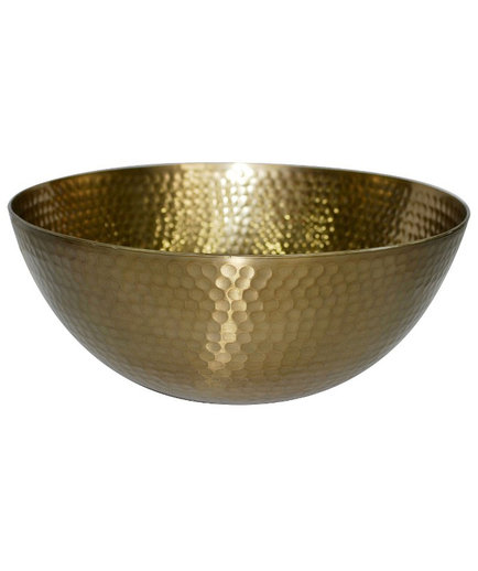 Threshold Metal Hammered Small Serving Bowl