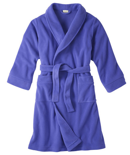 Monogrammed Kids' Fleece Robe
