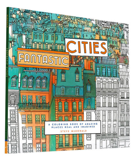 Color-In Cities