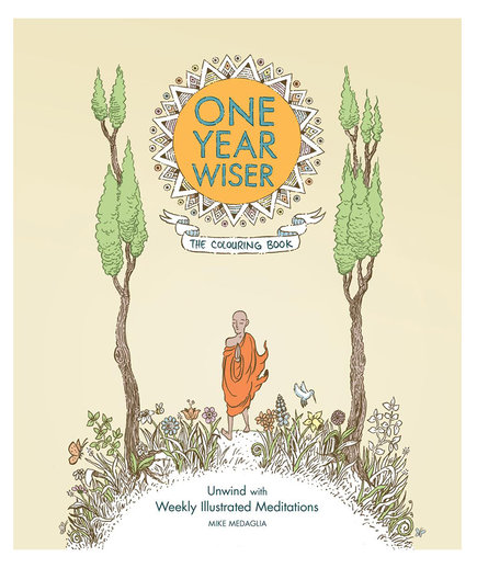 One Year Wiser: 365 Illustrated Meditations, by Mike Medaglia