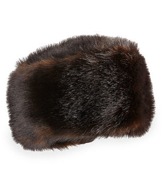 Neiman Marcus Faux Fur Stretch Hat