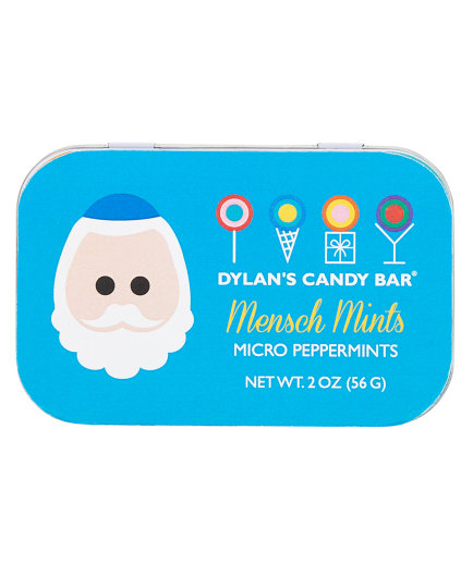 Dylan's Candy Bar Hanukkah Mensch Mints