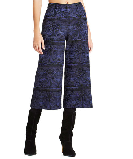 BCBGeneration Cropped Wide-Leg Pant