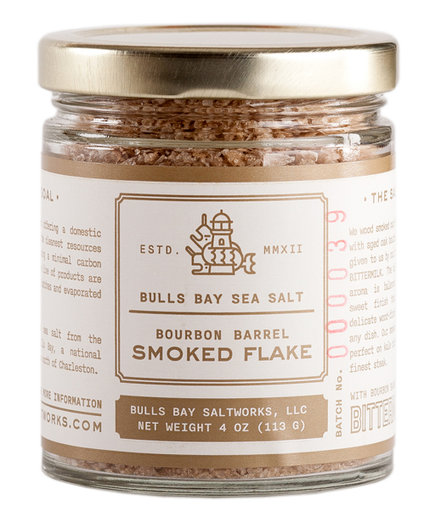 Bulls Bay Saltworks Bourbon Barrel Smoked Flake
