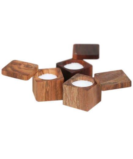 The Wooden Palate Salt Cellar