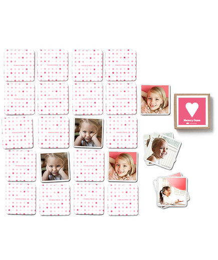Hearts Memory Game