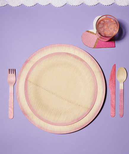 Dyed Cutlery & Plates