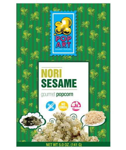 Pop Art Nori Popcorn