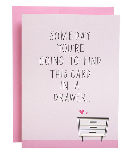 Card in a Drawer