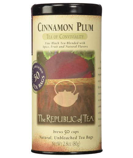 The Republic of Tea Cinnamon Plum Black Tea