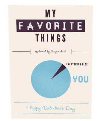 Favorite Infographic Valentine's Day Card