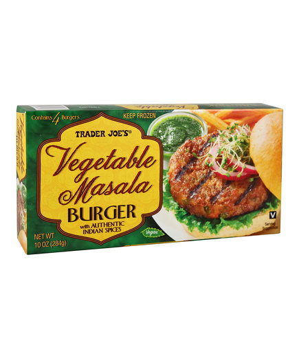 Trader Joe's Vegetable Masala Burgers