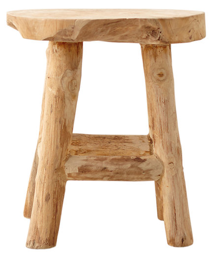 Reclaimed Teak Garden Stool